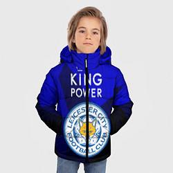 Куртка зимняя для мальчика Leicester City цвета 3D-черный — фото 2