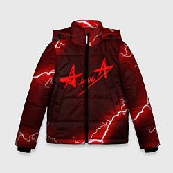Куртка зимняя для мальчика АлисА цвета 3D-черный — фото 1