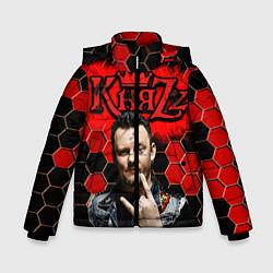Куртка зимняя для мальчика Князь цвета 3D-черный — фото 1
