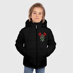 Куртка зимняя для мальчика Payton Moormeie цвета 3D-черный — фото 2
