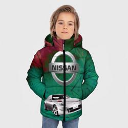 Куртка зимняя для мальчика Нисан цвета 3D-черный — фото 2