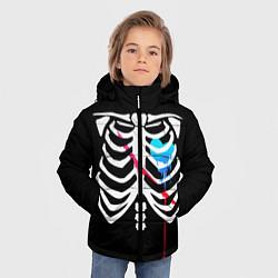 Куртка зимняя для мальчика UNDERTALE цвета 3D-черный — фото 2
