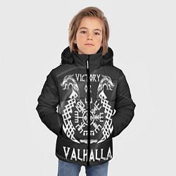 Куртка зимняя для мальчика Valhalla цвета 3D-черный — фото 2