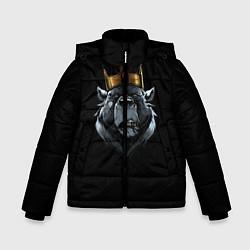 Куртка зимняя для мальчика King цвета 3D-черный — фото 1
