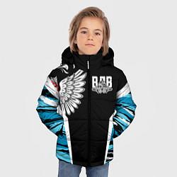 Куртка зимняя для мальчика Камуфляж ВДВ цвета 3D-черный — фото 2
