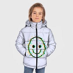Куртка зимняя для мальчика Smile цвета 3D-черный — фото 2