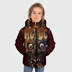 Куртка зимняя для мальчика ACDC цвета 3D-черный — фото 2