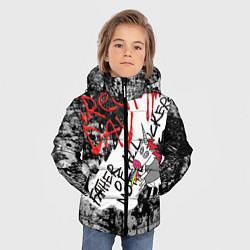 Куртка зимняя для мальчика Green Day - Father of All MF цвета 3D-черный — фото 2