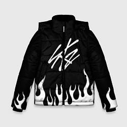 Куртка зимняя для мальчика Stray Kids цвета 3D-черный — фото 1