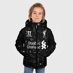 Куртка зимняя для мальчика Liverpool цвета 3D-черный — фото 2