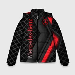 Куртка зимняя для мальчика Mercedes-Benz цвета 3D-черный — фото 1