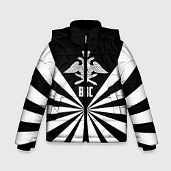 Куртка зимняя для мальчика ВВС цвета 3D-черный — фото 1