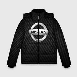 Куртка зимняя для мальчика NISSAN цвета 3D-черный — фото 1
