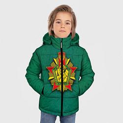 Куртка зимняя для мальчика Отличник погранвойск цвета 3D-черный — фото 2