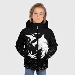 Куртка зимняя для мальчика ВЕДЬМАК цвета 3D-черный — фото 2