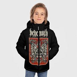 Куртка зимняя для мальчика Behemoth цвета 3D-черный — фото 2