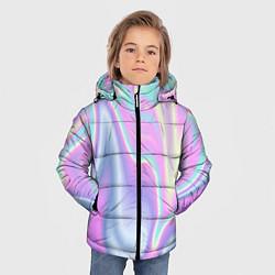 Куртка зимняя для мальчика Vaporwave цвета 3D-черный — фото 2