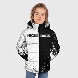 Куртка зимняя для мальчика Nickelback цвета 3D-черный — фото 2