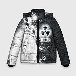 Куртка зимняя для мальчика Сталкер цвета 3D-черный — фото 1