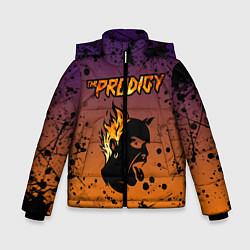 Куртка зимняя для мальчика THE PRODIGY цвета 3D-черный — фото 1