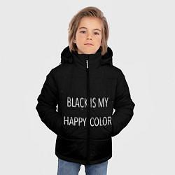 Куртка зимняя для мальчика Black цвета 3D-черный — фото 2