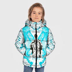 Детская зимняя куртка для мальчика с принтом NILETTO, цвет: 3D-черный, артикул: 10211069706063 — фото 2