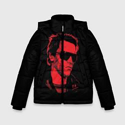 Куртка зимняя для мальчика The Terminator 1984 цвета 3D-черный — фото 1