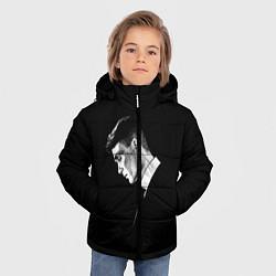 Куртка зимняя для мальчика Peaky Blinders цвета 3D-черный — фото 2