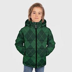 Куртка зимняя для мальчика ДЕНЬ СВЯТОГО ПАТРИКА цвета 3D-черный — фото 2