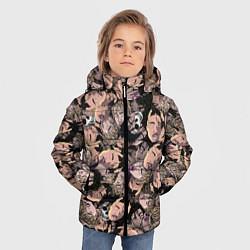 Детская зимняя куртка для мальчика с принтом Juice WRLD, цвет: 3D-черный, артикул: 10212957306063 — фото 2