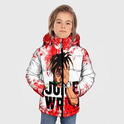 Куртка зимняя для мальчика Juice WRLD цвета 3D-черный — фото 2
