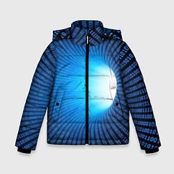 Куртка зимняя для мальчика Tunnel цвета 3D-черный — фото 1
