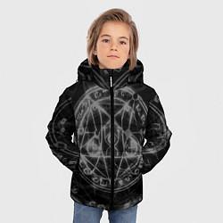 Куртка зимняя для мальчика ПЕНТАГРАММА, цвета 3D-черный — фото 2