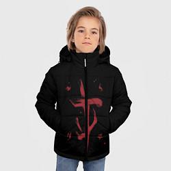 Куртка зимняя для мальчика Doom Mark of the Doom Slayer цвета 3D-черный — фото 2