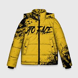 Куртка зимняя для мальчика FACE цвета 3D-черный — фото 1