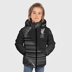 Куртка зимняя для мальчика Liverpool F C цвета 3D-черный — фото 2