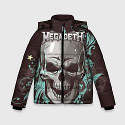 Куртка зимняя для мальчика Megadeth цвета 3D-черный — фото 1
