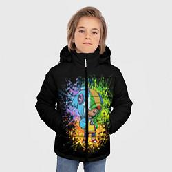 Куртка зимняя для мальчика Brawl Stars Leon цвета 3D-черный — фото 2