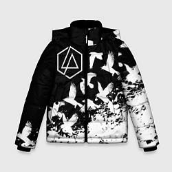 Куртка зимняя для мальчика LINKIN PARK 1 цвета 3D-черный — фото 1