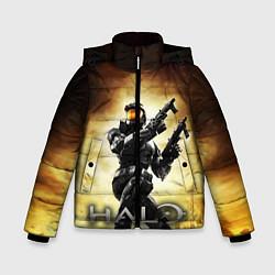 Куртка зимняя для мальчика Halo Infinite цвета 3D-черный — фото 1