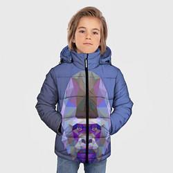 Куртка зимняя для мальчика Kong цвета 3D-черный — фото 2