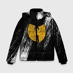 Куртка зимняя для мальчика Wu-Tang Clan цвета 3D-черный — фото 1
