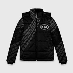 Детская зимняя куртка для мальчика с принтом KIA, цвет: 3D-черный, артикул: 10246245706063 — фото 1