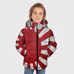 Куртка зимняя для мальчика ЯПОНИЯ ГРАНЖ цвета 3D-черный — фото 2