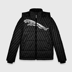 Куртка зимняя для мальчика Jaguar Z цвета 3D-черный — фото 1