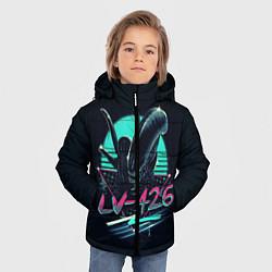 Куртка зимняя для мальчика The Alien цвета 3D-черный — фото 2