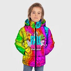 Куртка зимняя для мальчика Fall Guys цвета 3D-черный — фото 2