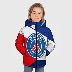 Куртка зимняя для мальчика PSG EXLUSIVE цвета 3D-черный — фото 2
