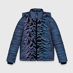 Детская зимняя куртка для мальчика с принтом JOY DIVISION, цвет: 3D-черный, артикул: 10265922706063 — фото 1