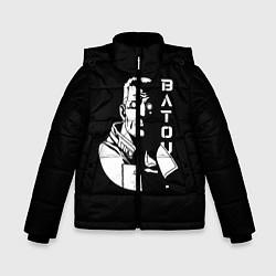 Куртка зимняя для мальчика Бато цвета 3D-черный — фото 1